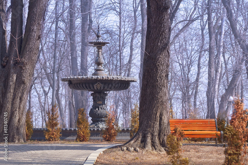 Leinwanddruck Bild Mariinsky Park in Kiev