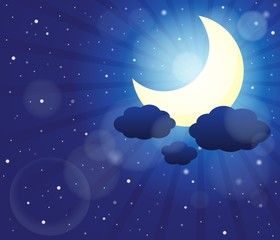Night sky theme image 3