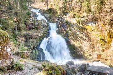 Triberg Waterfalls HDR