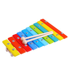 bright xylophone on white background