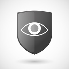 Shield icon with an eye
