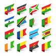 Flags of the World, Africa, set 3