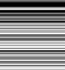 Straight, horizontal lines pattern with random thickness. Black