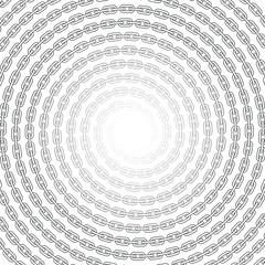 Chain spirals seamless background
