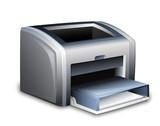 Laser printer icon. Vector illustration