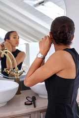 business woman jewellery