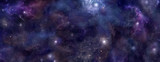 Fototapety Deep Space blue background