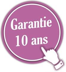 bouton garantie 10 ans