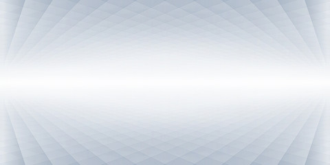 Abstract halftone perspective banner, background design