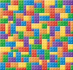 Plastic Locking Block Puzzle