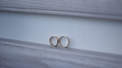 wedding rings come together