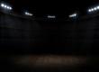 Sports hall interior - 81354303