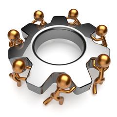 Partnership team business process teamwork cooperation