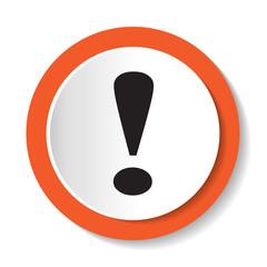 Векторный значок с изображением восклицательного знака