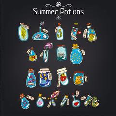 Лето в бутылке