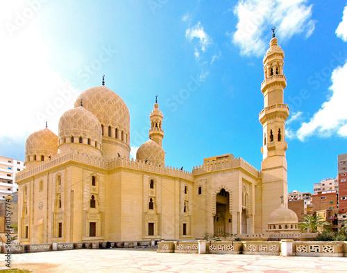 Plexiglas Egypte Mosque Alexandria