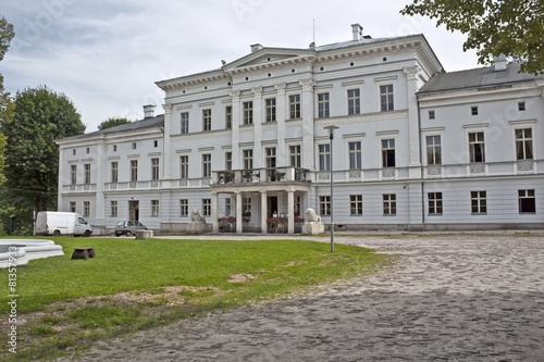 Palace Jedlinka in Poland.