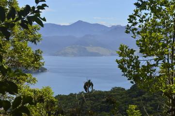 Vista do morro em Ilha Grande - RJ