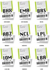 Airport tag bags - Grande Bretagne 02