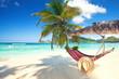 Leinwanddruck Bild - Entspannung im Urlaub