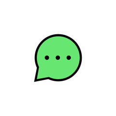 Chat - Thickly Colorful icon