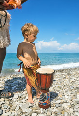 Beach entertainments for child