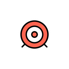 Dartboard - Thickly Colorful icon