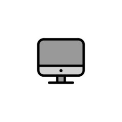 Monitor - Thickly Colorful icon