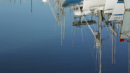 Boat Water Reflections