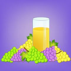 grapes and nectar