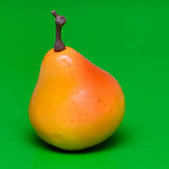 Yellow fresh pear