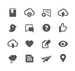 Social Sharing // Apps Interface