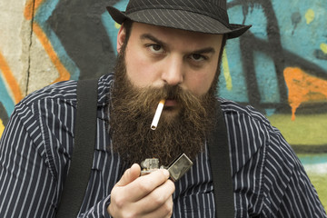 Snazzy Bearded Man
