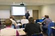 Speaker at business workshop and presentation. - 81371900