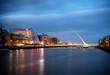 Leinwandbild Motiv Bridges of Dublin Ireland