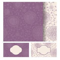 Seamless texture, card.