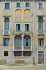 Venice house facade in Cannaregio area