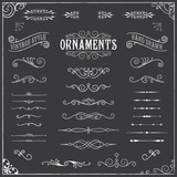 Chalkboard Ornaments - 81376559