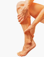 Pain in a calf muscle