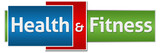 Health And Fitness Red Blue Green