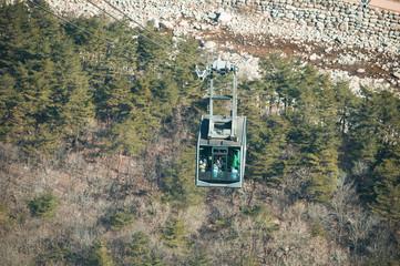 Cable car at Seoraksan