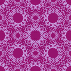 Abstract lace spirograph pattern