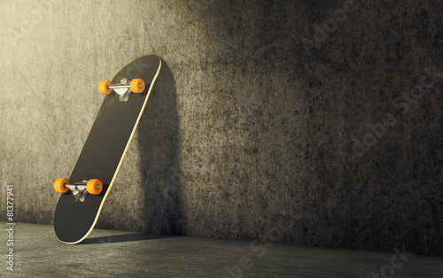 Leinwanddruck Bild skateboard