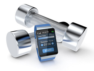 smartwatch and fitness