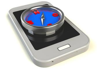 kompass smartphone