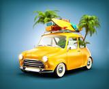 Fototapety  summer travel illustration