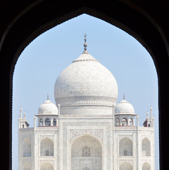 Taj Mahal. Agra, India