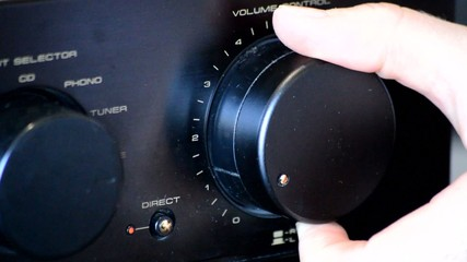 Turning The Volume Knob