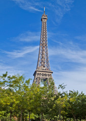 Eiffel Tower Scene ,Paris France