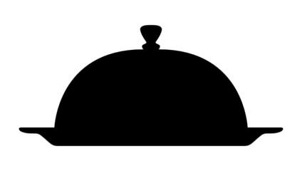 Speiseglocke Silhouette